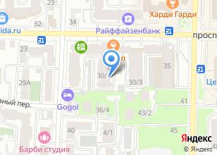 Компания «Вип-триумф» на карте