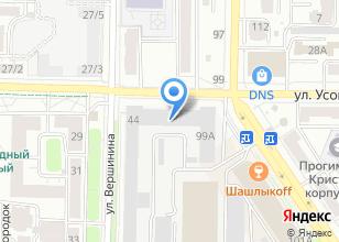 Компания «Exclusive» на карте