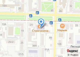 Компания «Корона» на карте