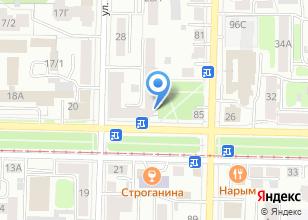 Компания «Green cafe» на карте