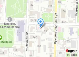 Компания «Vashmotor.com» на карте