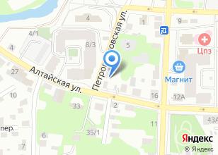 Компания «Жестянка» на карте