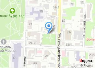 Компания «Югендблик» на карте