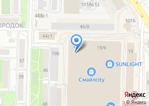 Компания «YORSH» на карте