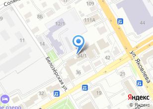 Компания «Управление Федеральной службы государственной регистрации, кадастра и картографии по Томской области» на карте
