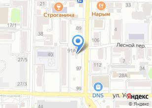 Компания «Голуби Томска» на карте