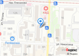 Компания «Кабинет» на карте