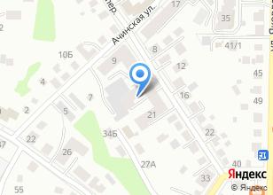 Компания «Аттракцион» на карте