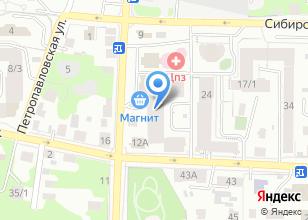 Компания «Совершенство» на карте
