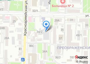 Компания «Вечерний гараж» на карте