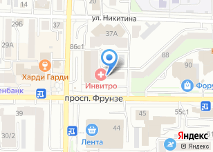 Компания «Fusion» на карте