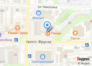 Компания «Барса» на карте