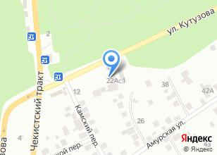 Компания «Masterskaya» на карте