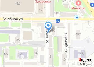 Компания «Массаж» на карте