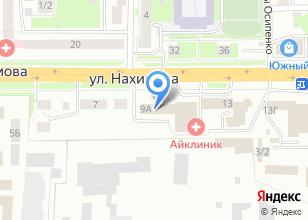 Компания «Отдел полиции №1 Кировский» на карте