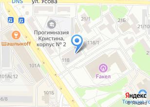 Компания «Пантера» на карте