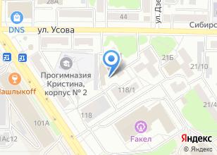 Компания «Упрямый шар» на карте