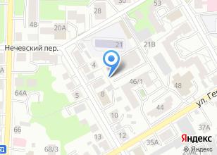 Компания «Вебстрайп» на карте
