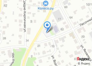 Компания «АГЗС в Песочном переулке» на карте