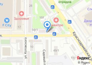 Компания «Лиро» на карте