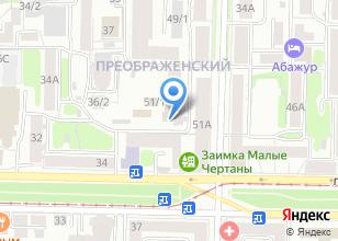 Компания «Райхон» на карте