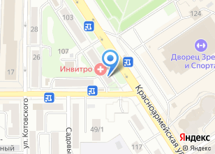 Компания «Оптика на Красноармейской» на карте