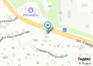 Компания «Дашар» на карте
