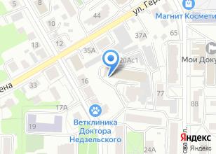 Компания «Имедис Т» на карте