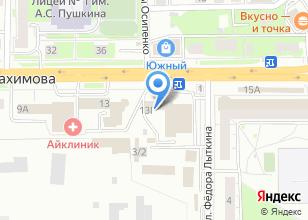 Компания «Томск Авиа» на карте