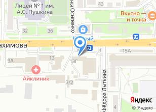 Компания «Ленточка» на карте