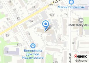 Компания «Кабинет массажа и физиотерапии» на карте