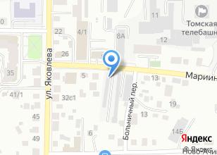 Компания «Лайнпартс» на карте