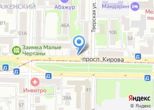 Компания «А-системс» на карте