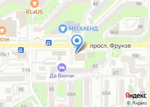 Компания «Буланже» на карте