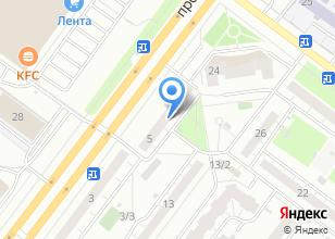 Компания «Центр копировальных и фотоуслуг на проспекте Мира» на карте