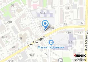 Компания «Дюны» на карте