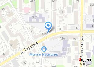 Компания «Единый расчетно-кассовый центр г. Томска, УМП» на карте