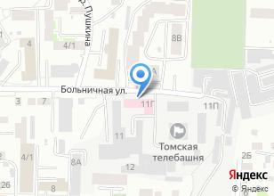 Компания «Цсм Клиника Больничная» на карте