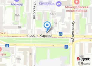 Компания «Управление пенсионного фонда РФ в г. Томске» на карте