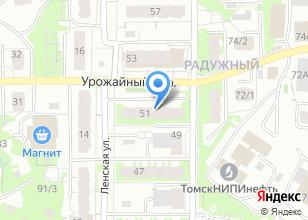 Компания «Ленская» на карте