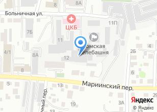 Компания «Мариинский» на карте