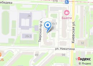 Компания «Томскэнергосбыт» на карте