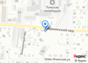 Компания «Аккумулятор» на карте