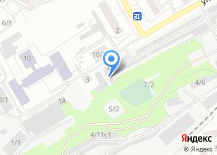 Компания «Исток» на карте