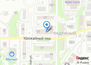 Компания «Шаг вперед» на карте