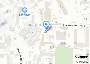Компания «Солнечная-сервис» на карте