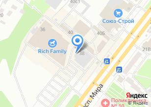 Компания «AMG сервис» на карте