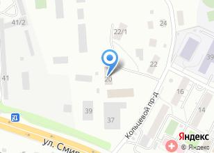 Компания «Воспитательная колония-2 УФСИН России по Томской области» на карте