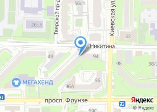 Компания «Весело» на карте