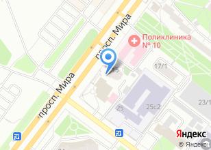 Компания «М15» на карте